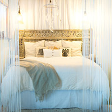 Beach Style Bedroom by Ashley Camper Photography
