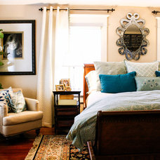 Transitional Bedroom by Mina Brinkey