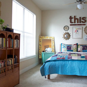 My Houzz: Color and Pattern Animate a Small Studio