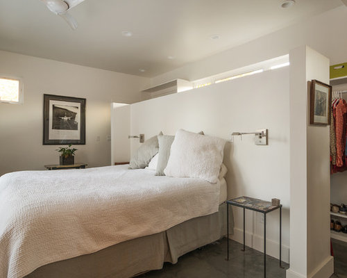 Closet Behind Bed Houzz