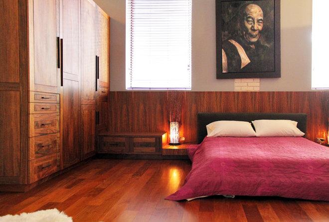 Contemporary Bedroom by Laura Garner