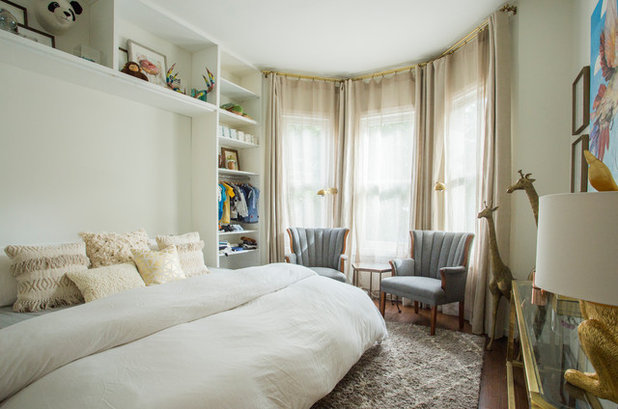 Eclectic Bedroom by Le Klein