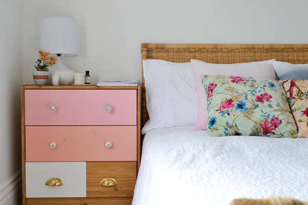 Éclectique Chambre by Planning Pretty