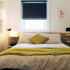 Transitional Bedroom by Laura Garner