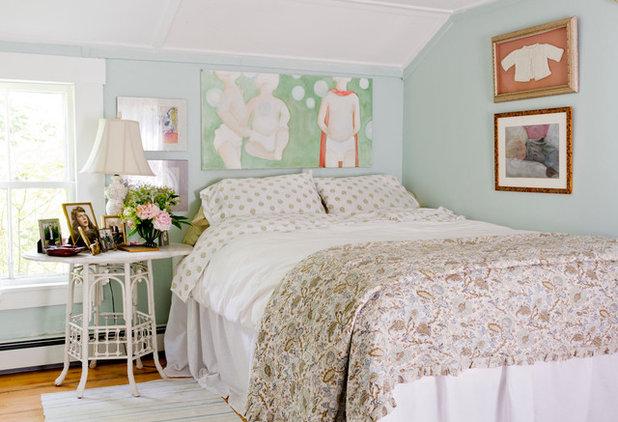 Shabby-chic Style Bedroom by Rikki Snyder