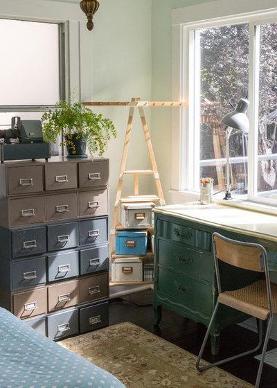 Eclectic Bedroom by Lauren Edith Andersen, Photographer