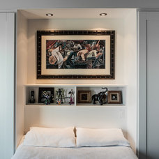 Transitional Bedroom by Becki Peckham