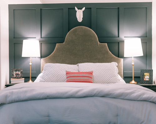 Inspiration for an eclectic bedroom remodel in DC Metro