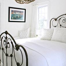 Beach Style Bedroom by Mina Brinkey