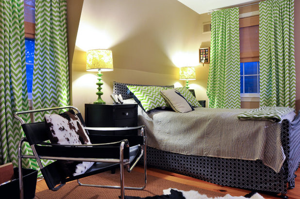 Eclectic Bedroom by CM Glover
