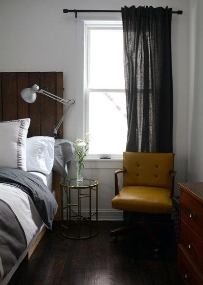 Industrial Bedroom by Kayla Pearson