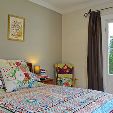 Eclectic Bedroom by Luci.D Interiors