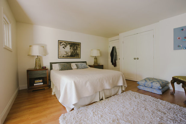 Transitional Bedroom by Nanette Wong