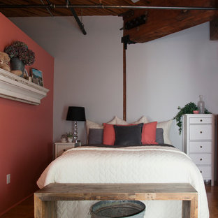 Inspiration for an eclectic bedroom remodel in Portland