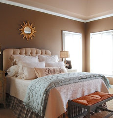 traditional bedroom by Corynne Pless
