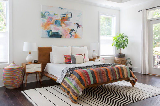 Beach Style Bedroom by Margaret Wright Photography