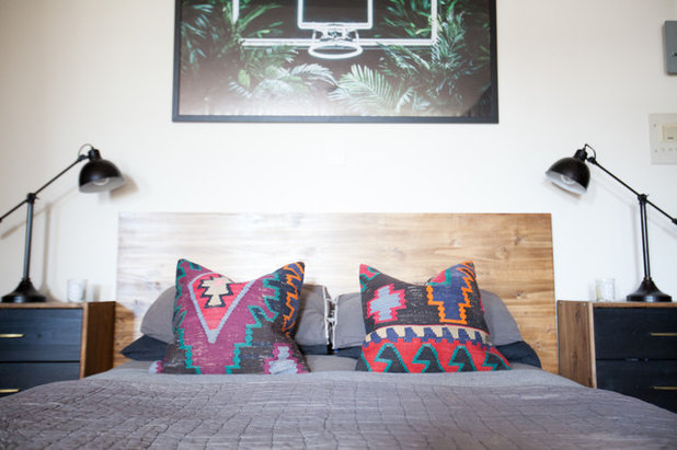 Eclectic Bedroom by Elaine Musiwa