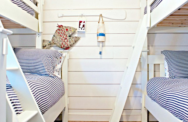 Beach Style Bedroom by Mina Brinkey