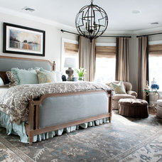 Traditional Bedroom by Mary Prince Photography