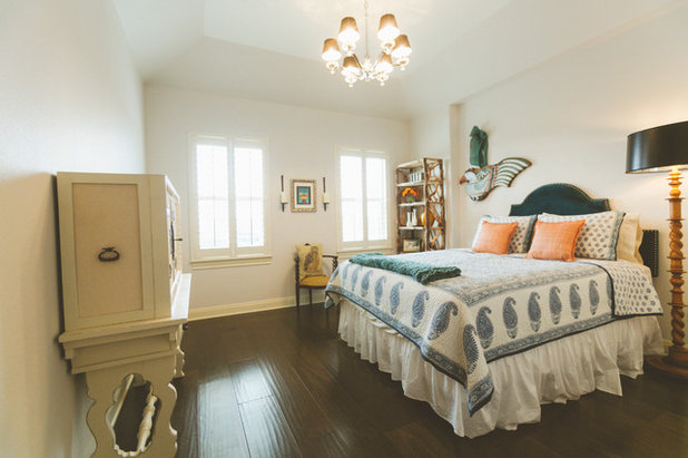Cute Traditional Bedroom by Heather Banks
