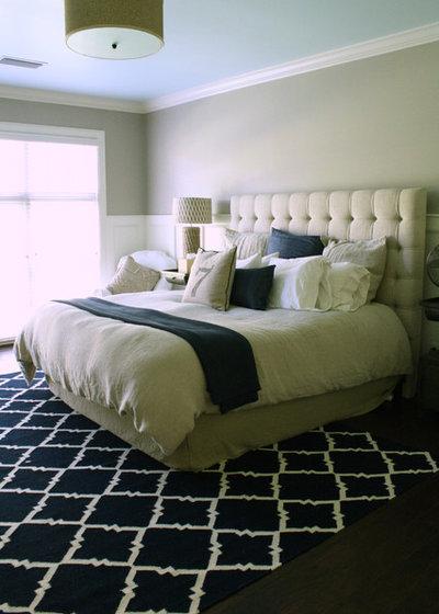 Transitional Bedroom by Mina Brinkey