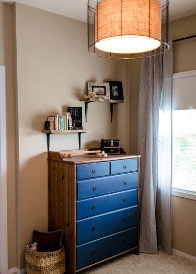Traditional Bedroom by Kaia Calhoun