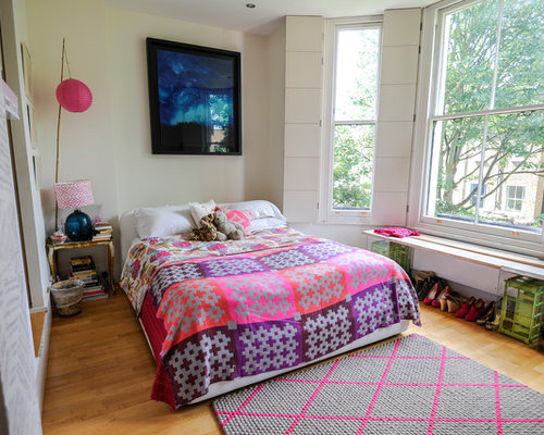 Affordable eclectic bedroom design ideas renovations photos for Eclectic bedroom designs