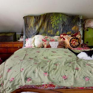 Eclectic guest bedroom in New York.
