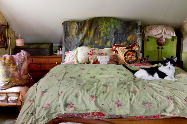Beau Eclectic Bedroom By Rikki Snyder