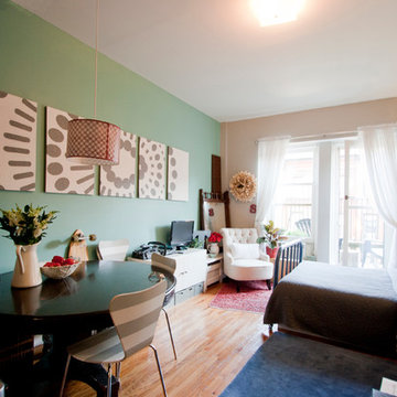 My Houzz: Less Room Leads to Creative Chic in Manhattan