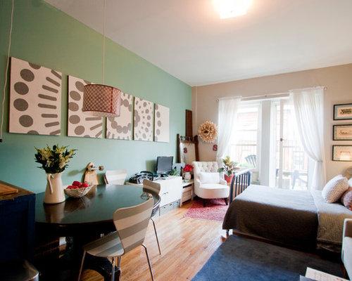 Bedsit home design ideas renovations photos for Bedsitter interior design