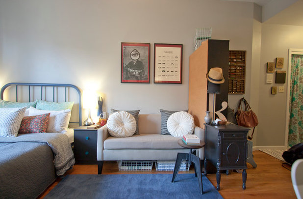 Eclectic Bedroom by Chris A Dorsey Photography