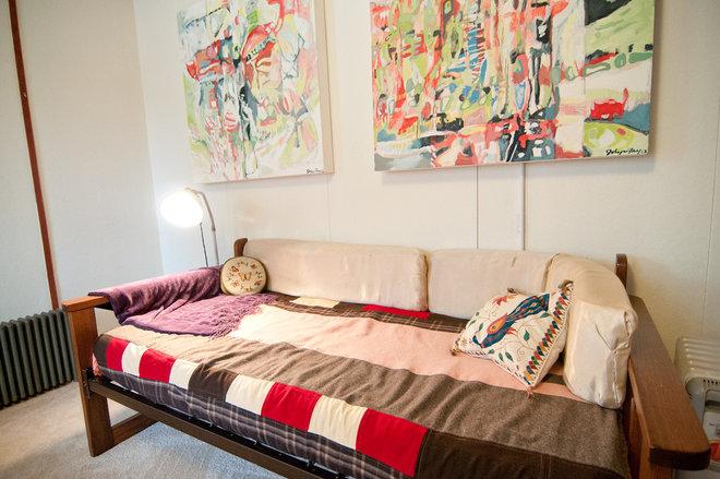 Rustic Bedroom by Louise Lakier