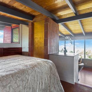 Mid-century modern bedroom photo in San Francisco
