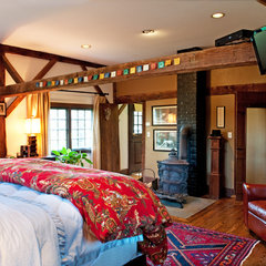 eclectic bedroom by Mary Prince
