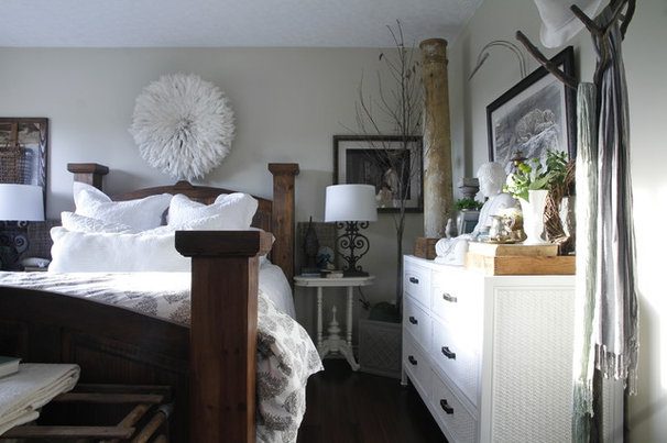 Eclectic Bedroom by Esther Hershcovich