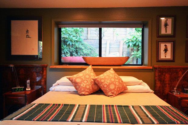Eclectic Bedroom by Robert Burns