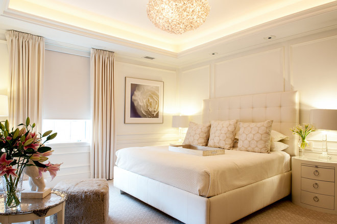Contemporary Bedroom by Mary Prince