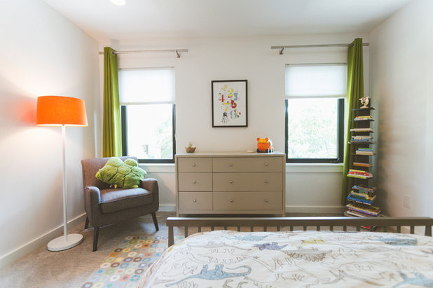 Midcentury Bedroom by Heather Banks