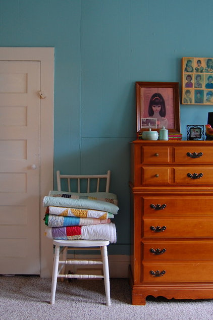 midcentury bedroom by Corynne Pless