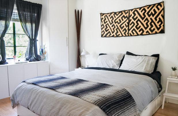 Eclectic Bedroom by STRUKTR Studios Photography