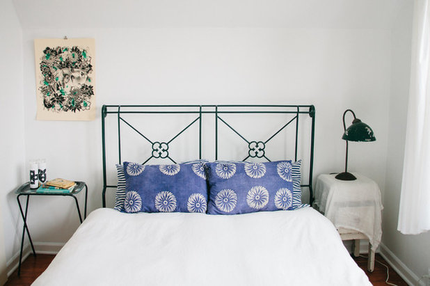 Eclectic Bedroom by Ellie Lillstrom Photography