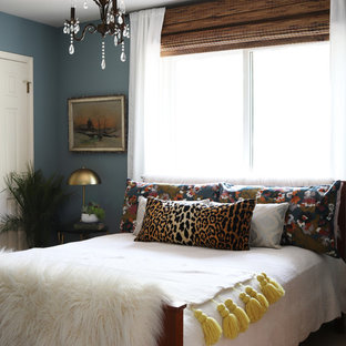 Inspiration for an eclectic bedroom remodel in Austin