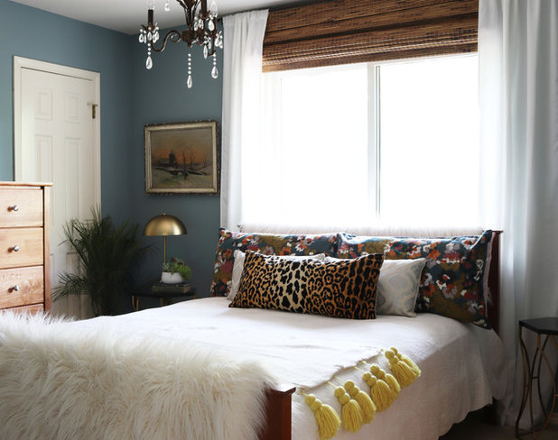 Eclectic Bedroom by Kristin Laing