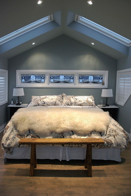 Transitional Bedroom by Heather Merenda