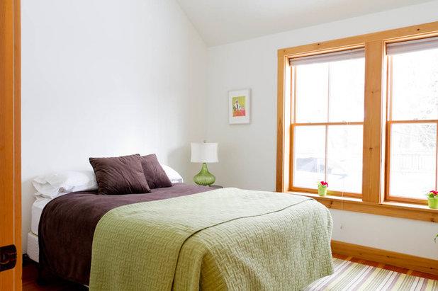 エクレクティック 寝室 by Rikki Snyder