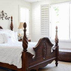 Mediterranean Bedroom by Planning Pretty
