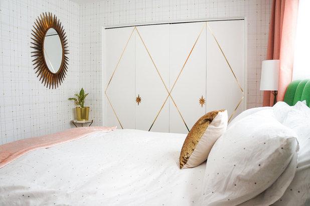 Midcentury Bedroom by STRUKTR Studios Photography