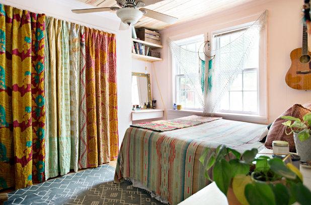 Eclectic Bedroom by Caroline Sharpnack