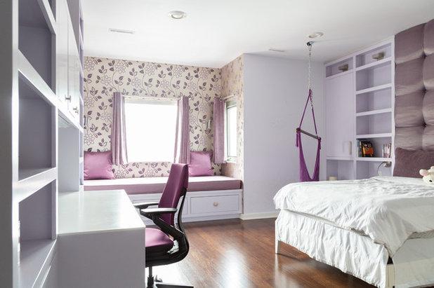 Eclectic Bedroom by Rachel Loewen Photography